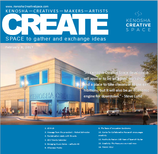 Current Creative Space Magazine